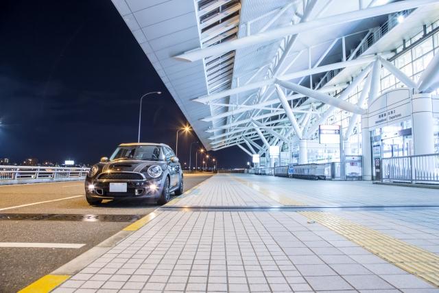 夜の福岡空港