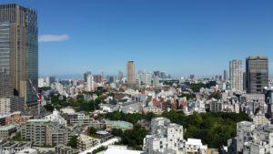 東京 日本 スカイライン 市 高層ビル 建物 空 日当たりの良い